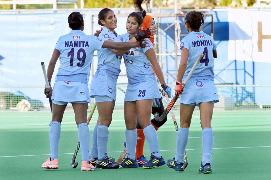 Indian Women Hockey Team Beat South Korea 1 0 In Tour Opener Women S Hockey Hockey World Cup Hockey Teams