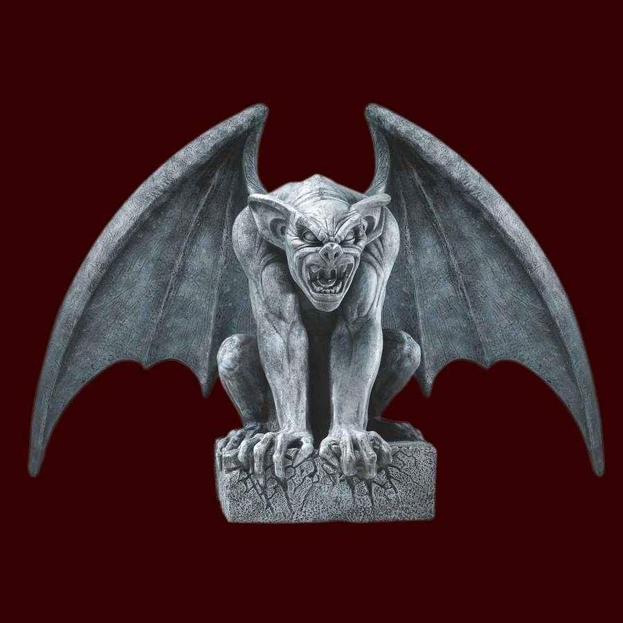 Large Gargoyle Prop Gargoyles Halloween Props Haunted Props