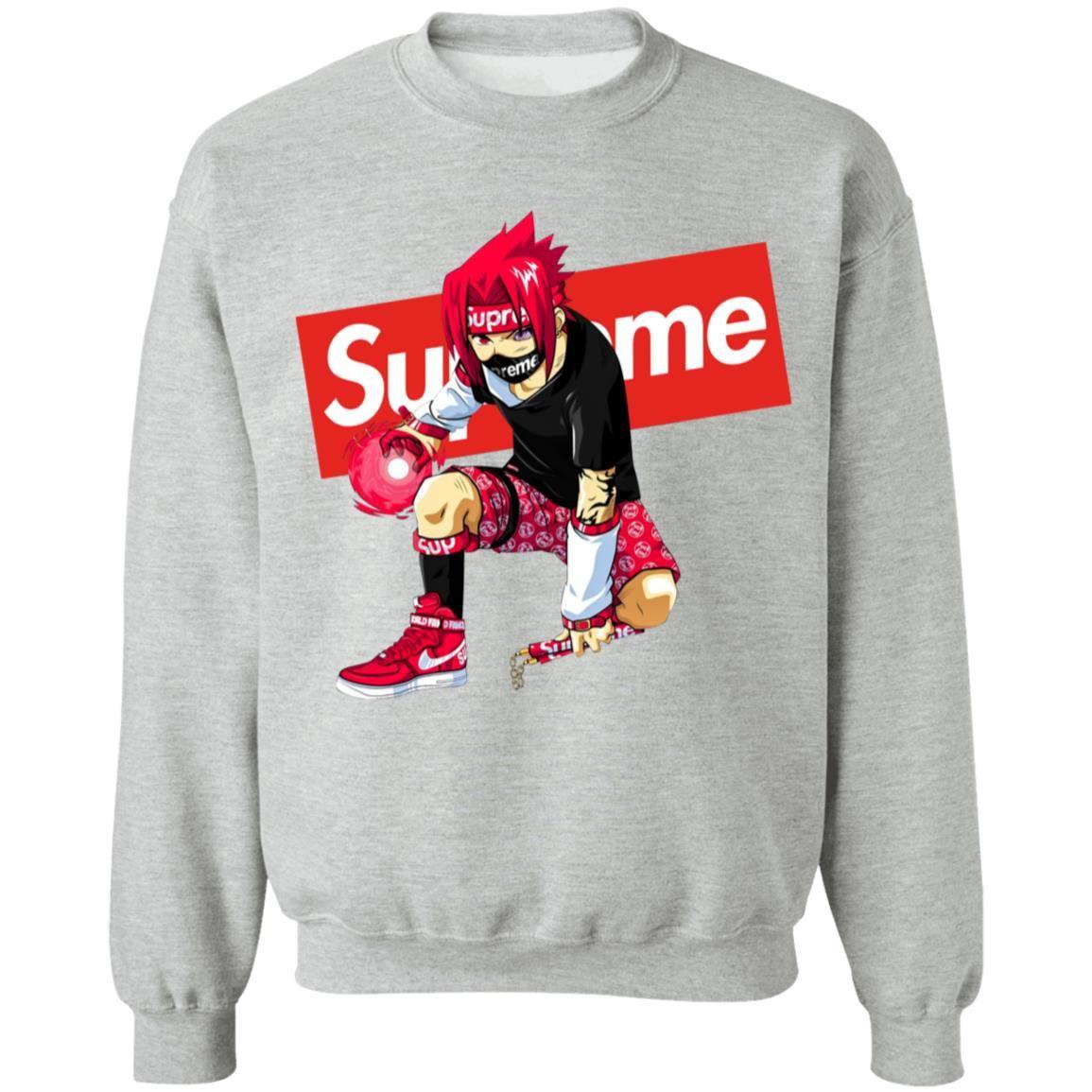 Supreme Sakuke Pullover Sweatshirt The Geek Gifts Sweatshirts Pullover Sweatshirt Shirts [ 1155 x 1155 Pixel ]
