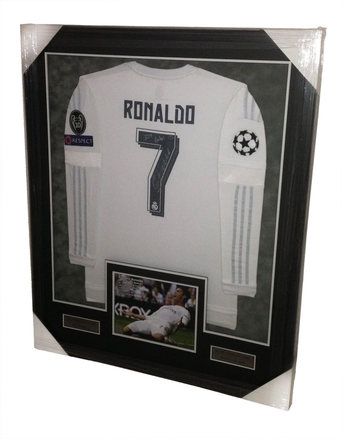 premium selection fb66e 8a986 Cristiano Ronaldo Signed Autographed Real Madrid Jersey ...
