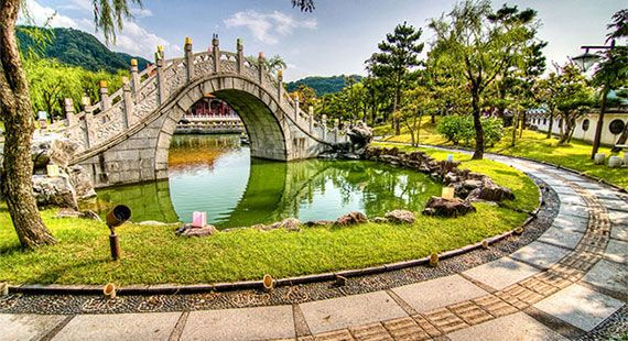 Superb Gorgeous Chinese gardens abroad Chinese style gardens are no less beautiful abroad and many