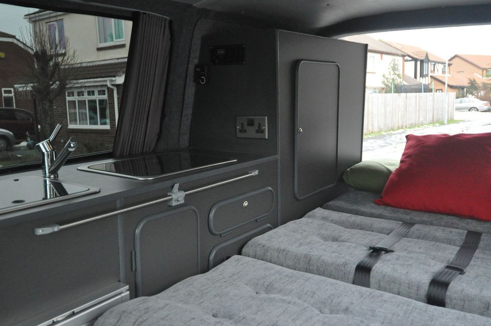 Vw t5 t4 conversion furniture plans and building tips for Vw t4 interior designs