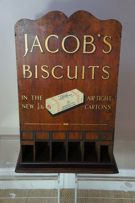 Early 1900, Jacobs biscuits, shop counter display