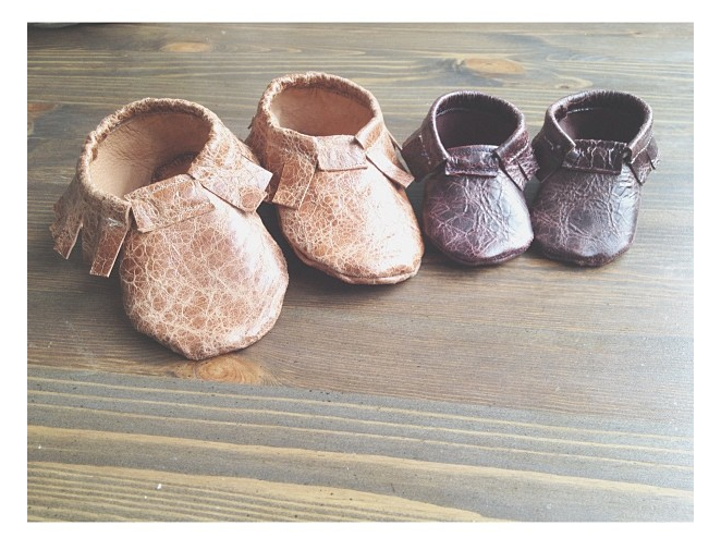 sew} Little Leather Moccasin Tutorial and Free Pattern (used 3 seam ...