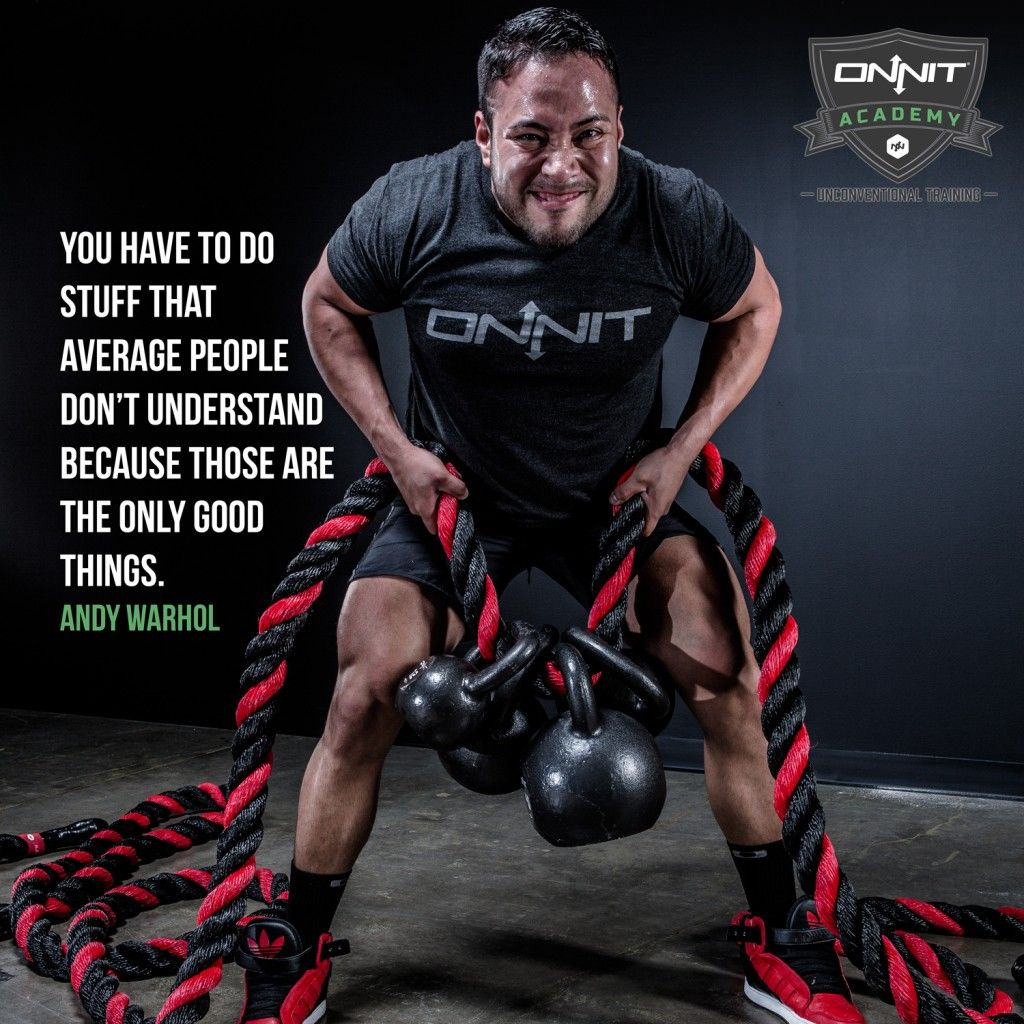 Workout Motivation You Have To Do Stuff That Average