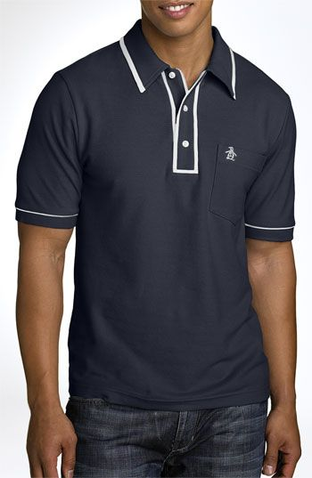 Penguin 'The Earl' Trim Fit Polo