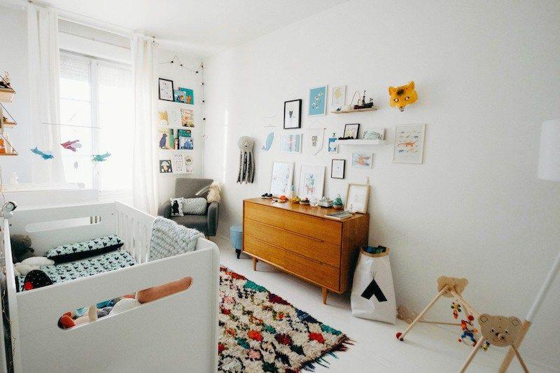 Inspiration déco scandinave pour une chambre denfant