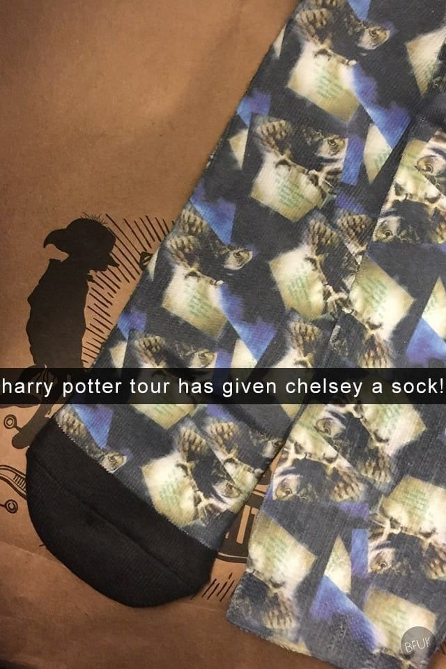 Every Snapchat I Sent From The Harry Potter Studio