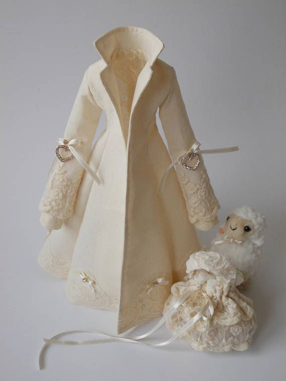 PDF sewing pattern for COAT for Tilda doll 65 cm | diy ...