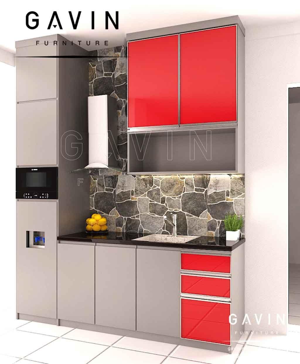 Kitchen Set Papan Upvc Untuk Dapur Tahan Rayap Dapur Cabinet