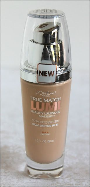 L'Oreal True Match Lumi Healthy Luminous Makeup. Great for a dewy/glow look. Good for oily skin types