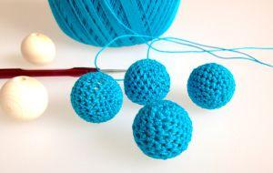 Häkelperlen Für Eine Kette Crochet And Knit Pinterest Crochet