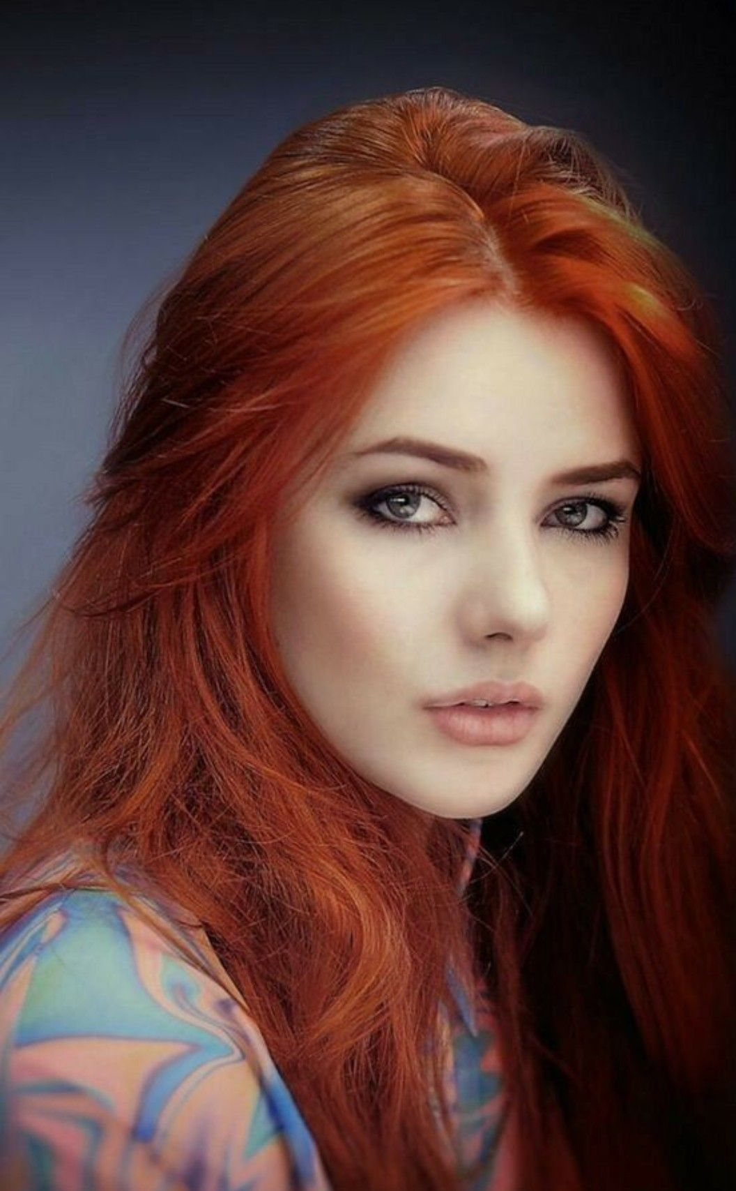 Red Hair Woman, Beautiful Red Hair, Gorgeous Redhead, Beautiful Eyes