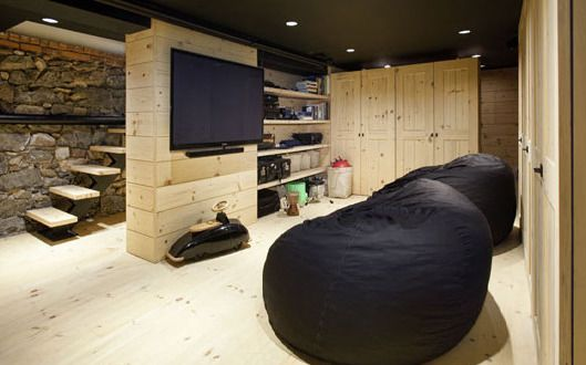 30 kreative wohnideen f r den keller dachzimmer keller. Black Bedroom Furniture Sets. Home Design Ideas