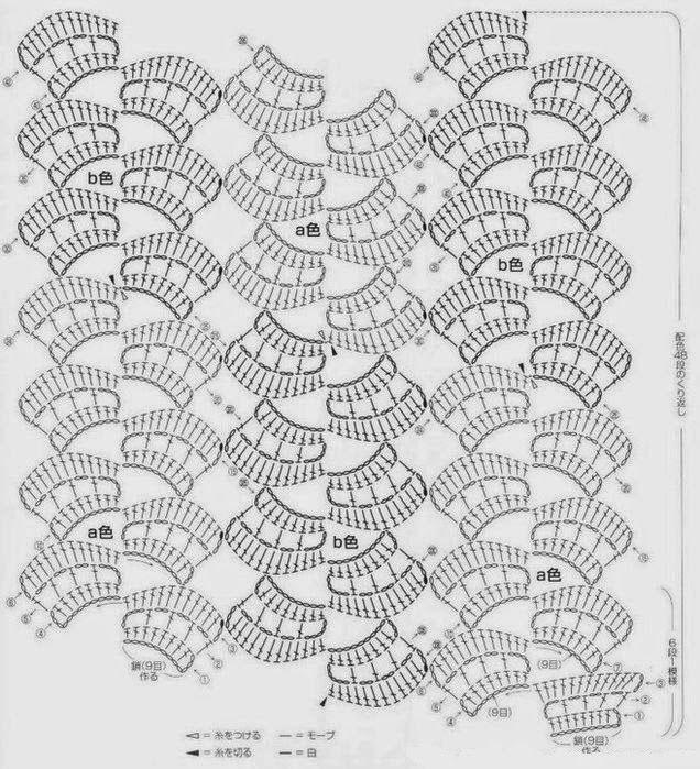 Bufanda Dulce Primavera Patron - Patrones Crochet | Crochet ...