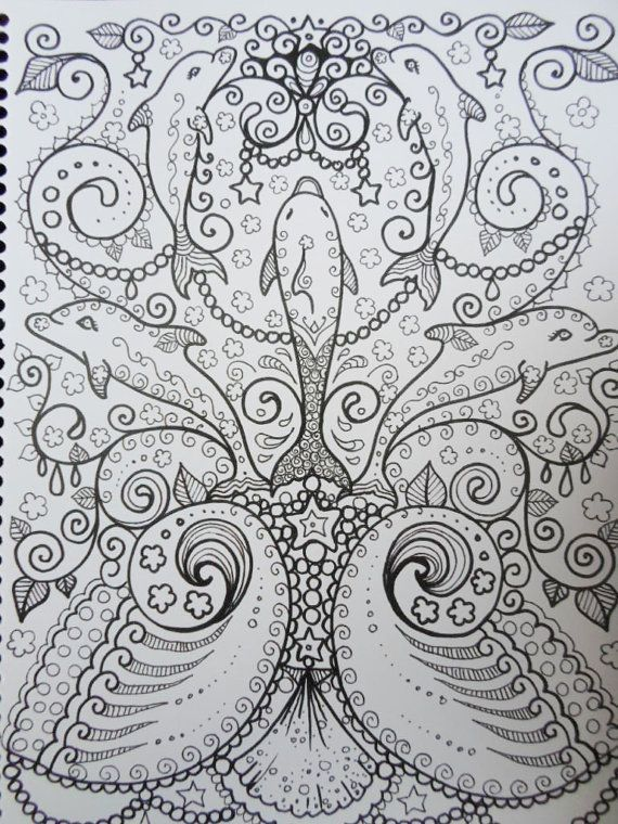 florest art therapy coloring pages - Pesquisa Google | Omalovánky ...