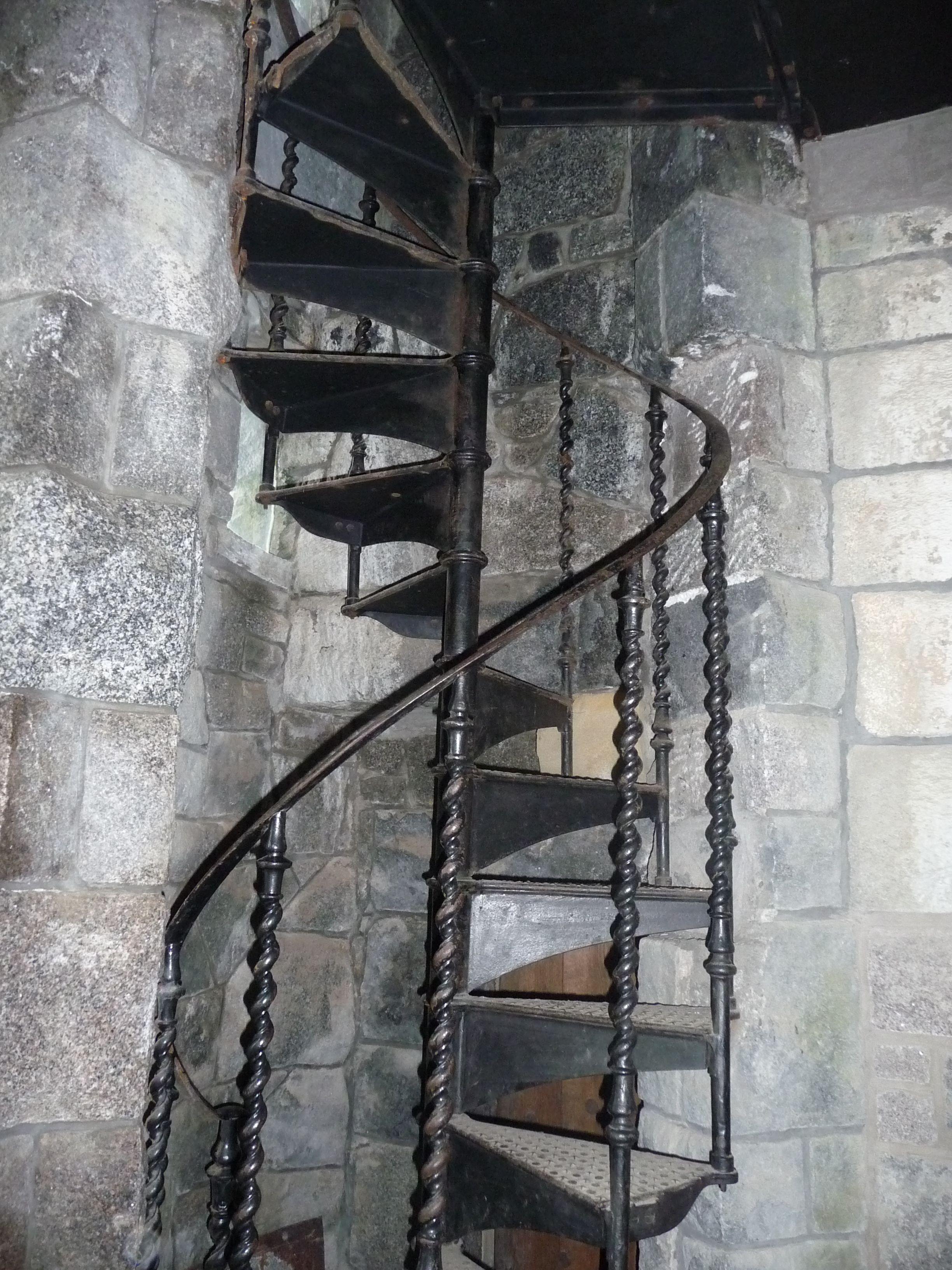 Iron stairway to nowhere