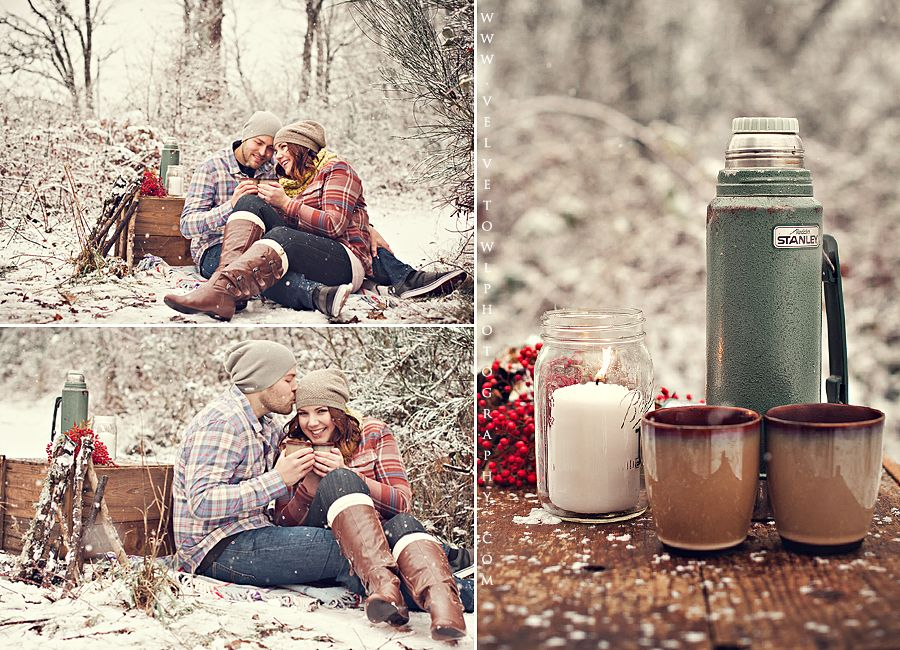 winter engagement session / Snow photography/ couples session VeLvet OwL Photography Blog » Photography Blog- LOVE!!