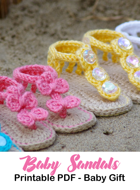 Make A Cute Pair Of Baby Sandals Adorable Summer Baby Shoes Crochet Patterns A Crochet Baby Sandals Pattern Crochet Baby Sandals Crochet Baby Shoes Pattern