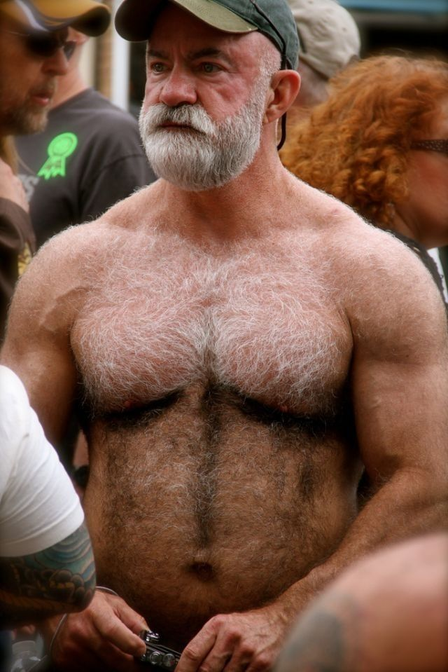 Gay old hairy