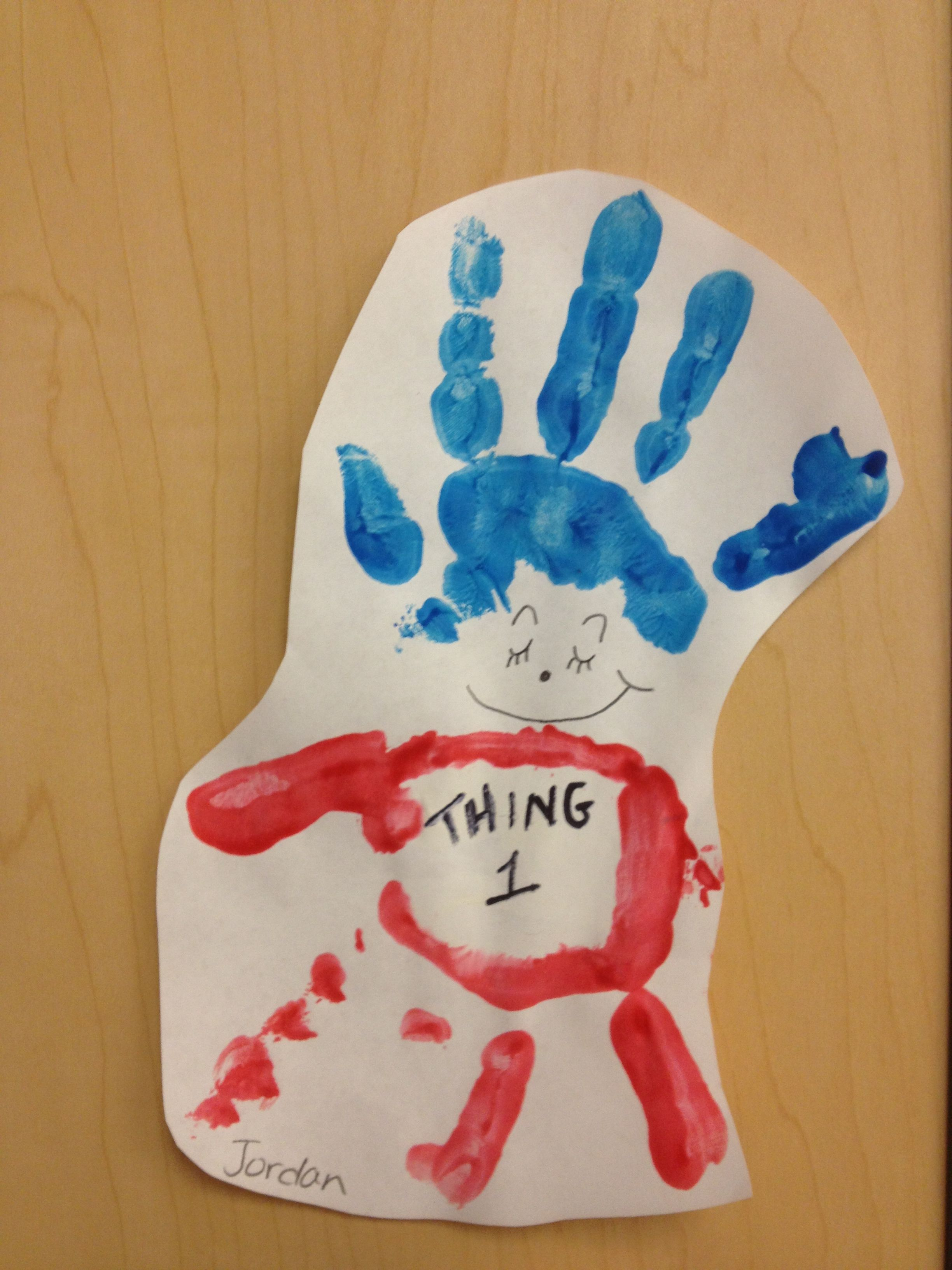 Dr. Seuss: Thing 1 and Thing 2