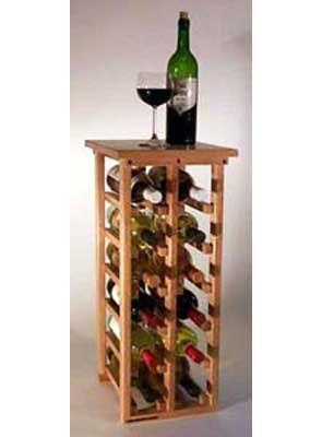 Wine Rack Cavas De Madera Estantes De Vino De Madera