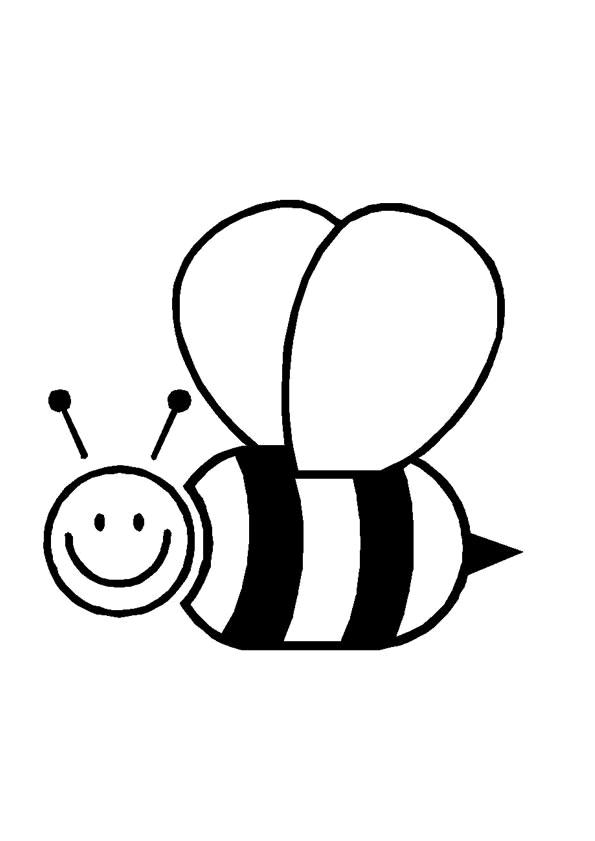 kleurplaten bloemen en bijen