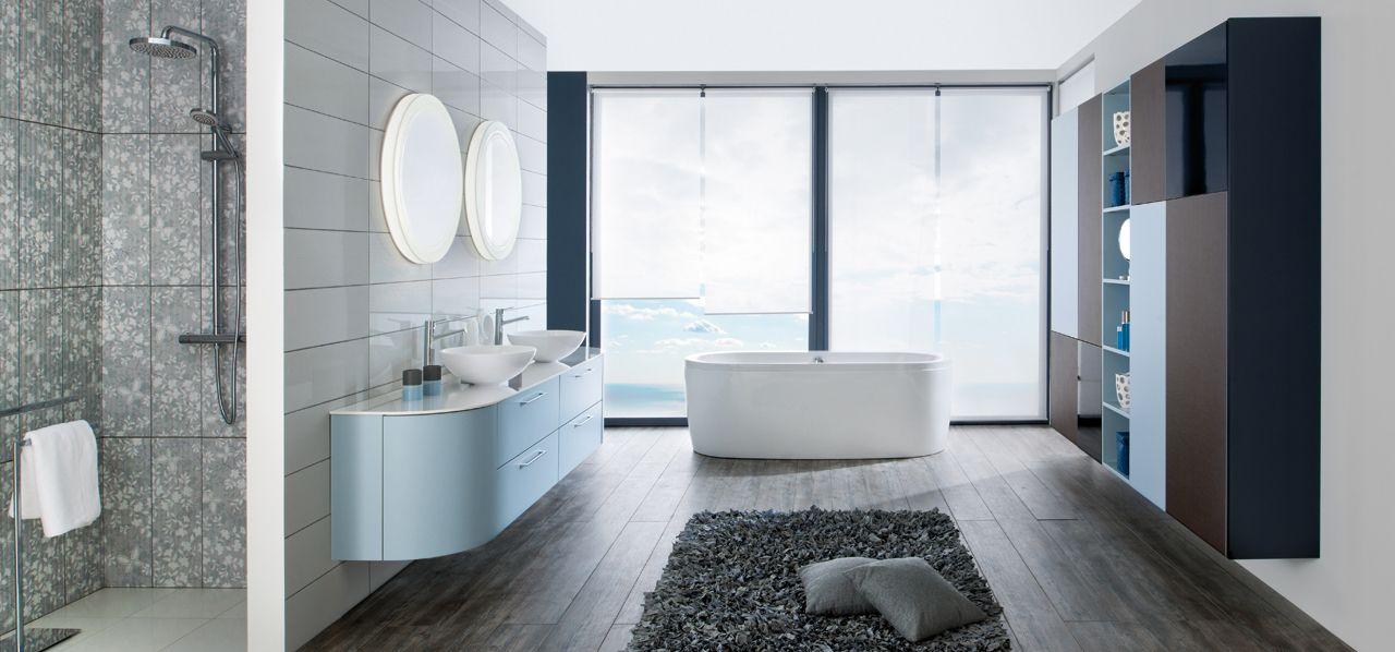 Tendance salle de bains  les formes arrondies - Blog Schmidt