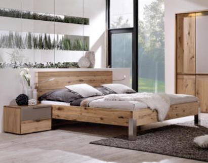 Holzbett 180x200 Braun Bett Bett 180 Und Aussenmobel