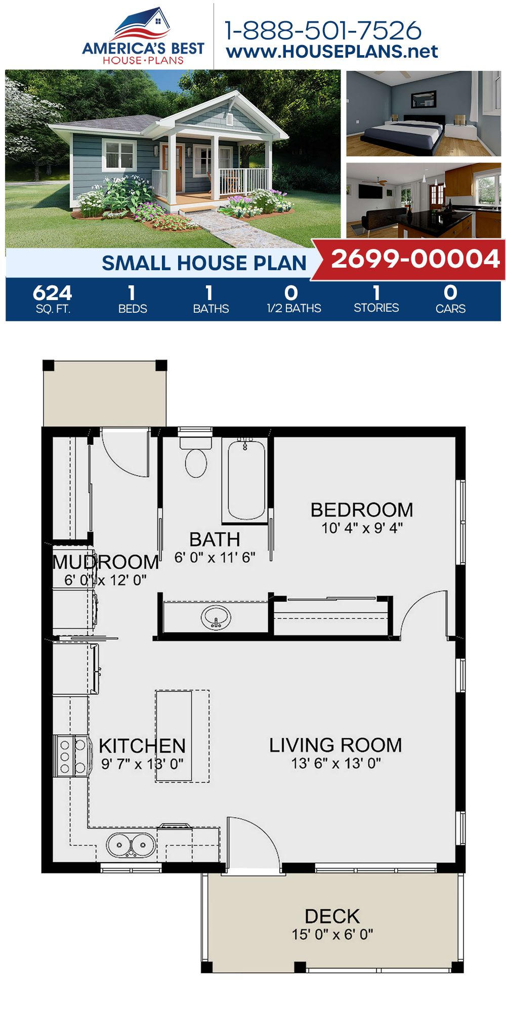 Small House Plan 2699