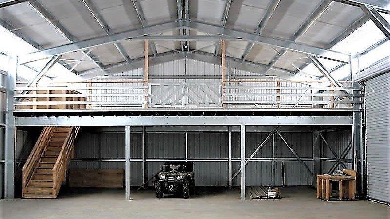 Cool Shed Mezzanine Ideas Ideas in 2020 Metal building