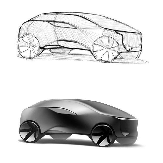 vansuv #suv#sketch#designsketch#cardesign#autodesign#automotive#car#industrialdesign#carsketch