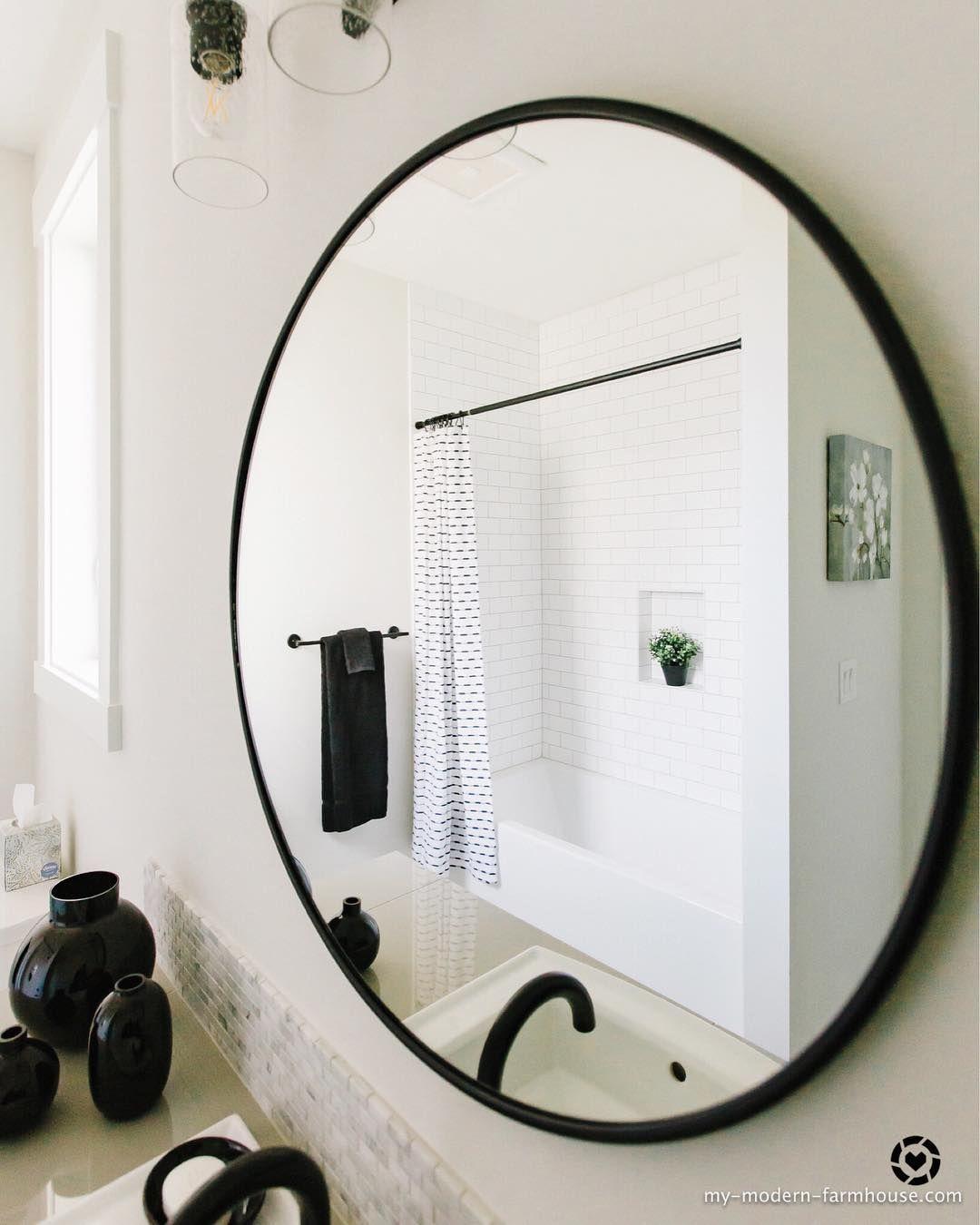Modern Farmhouse Bathroom Bathroom Design Inspiration Modern Farmhouse Bathroom Bathroom Design [ 1350 x 1080 Pixel ]