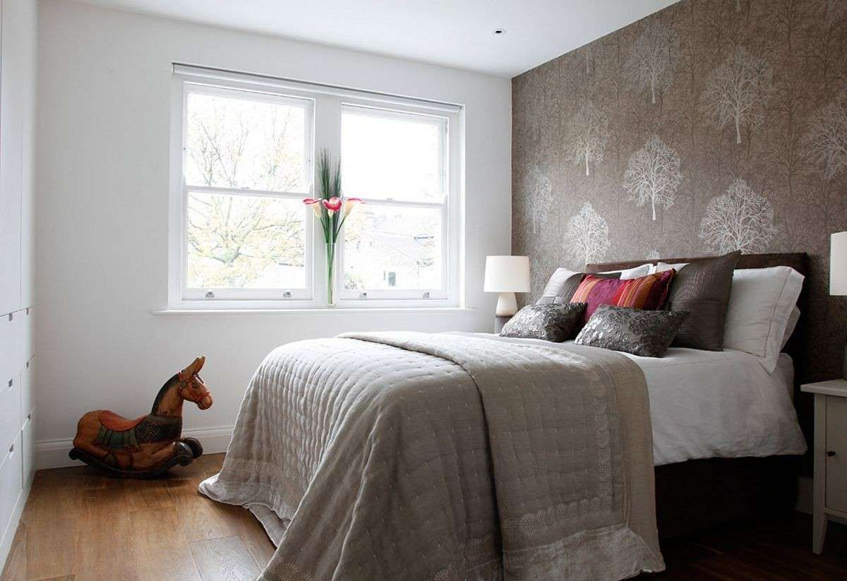 Camera da letto piccola: tanto stile in poco spazio | Pinterest ...