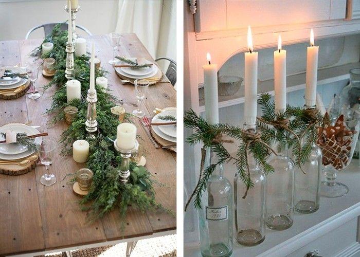 Weihnachtliche Tischdeko - 60 ausgefallene Tischdeko Ideen
