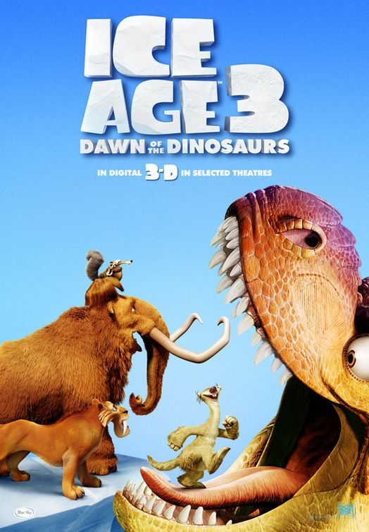 Ice Age 3 Dawn Of The Dinosaurs Film Convites Digitais I