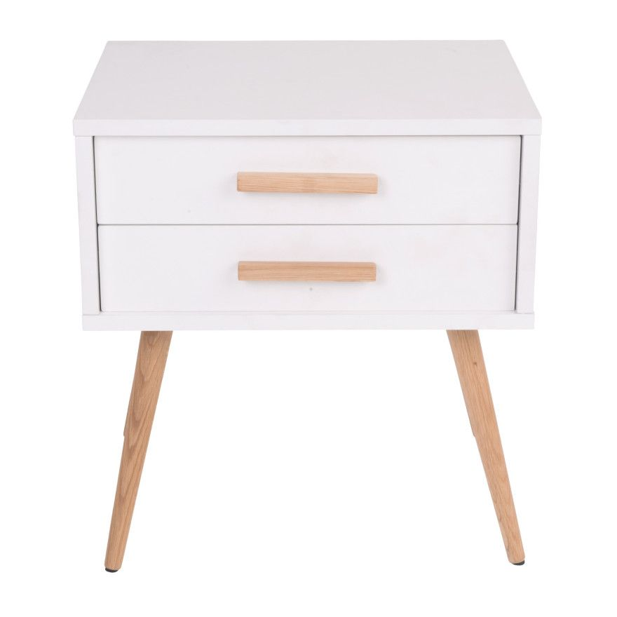 Hyatt Side Table With Drawers