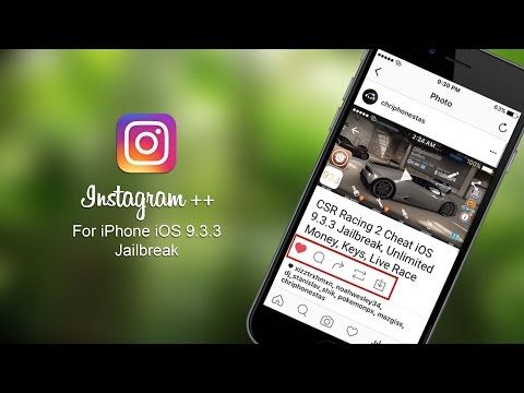 Instagram ++ For iPhone iOS 9 3 3 Jailbreak Download Picture And