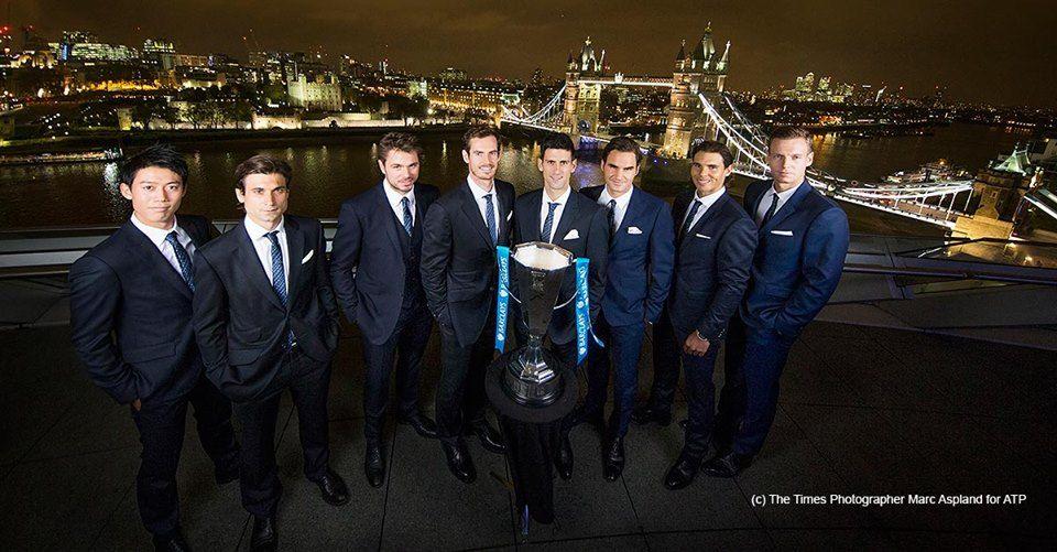 JUGADORES FINALES BARCLAYS ATP WORLD TOUR 2015