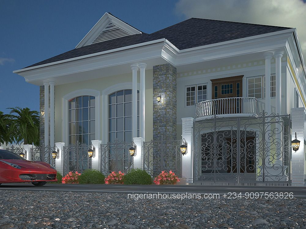 nigeria house plan home building design apartment decor