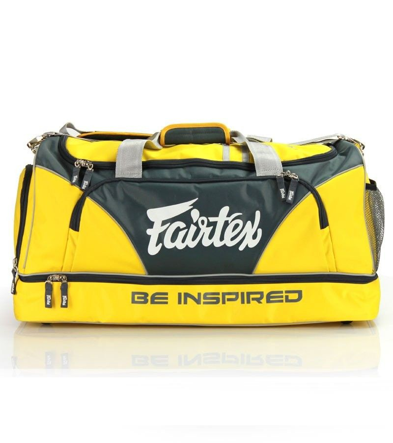 Fairtex Yellow Gym Bag