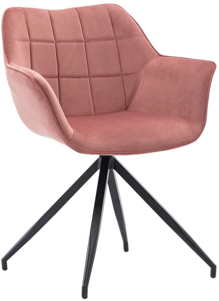 Duhome velvet accent chairmidback dining arm chairs