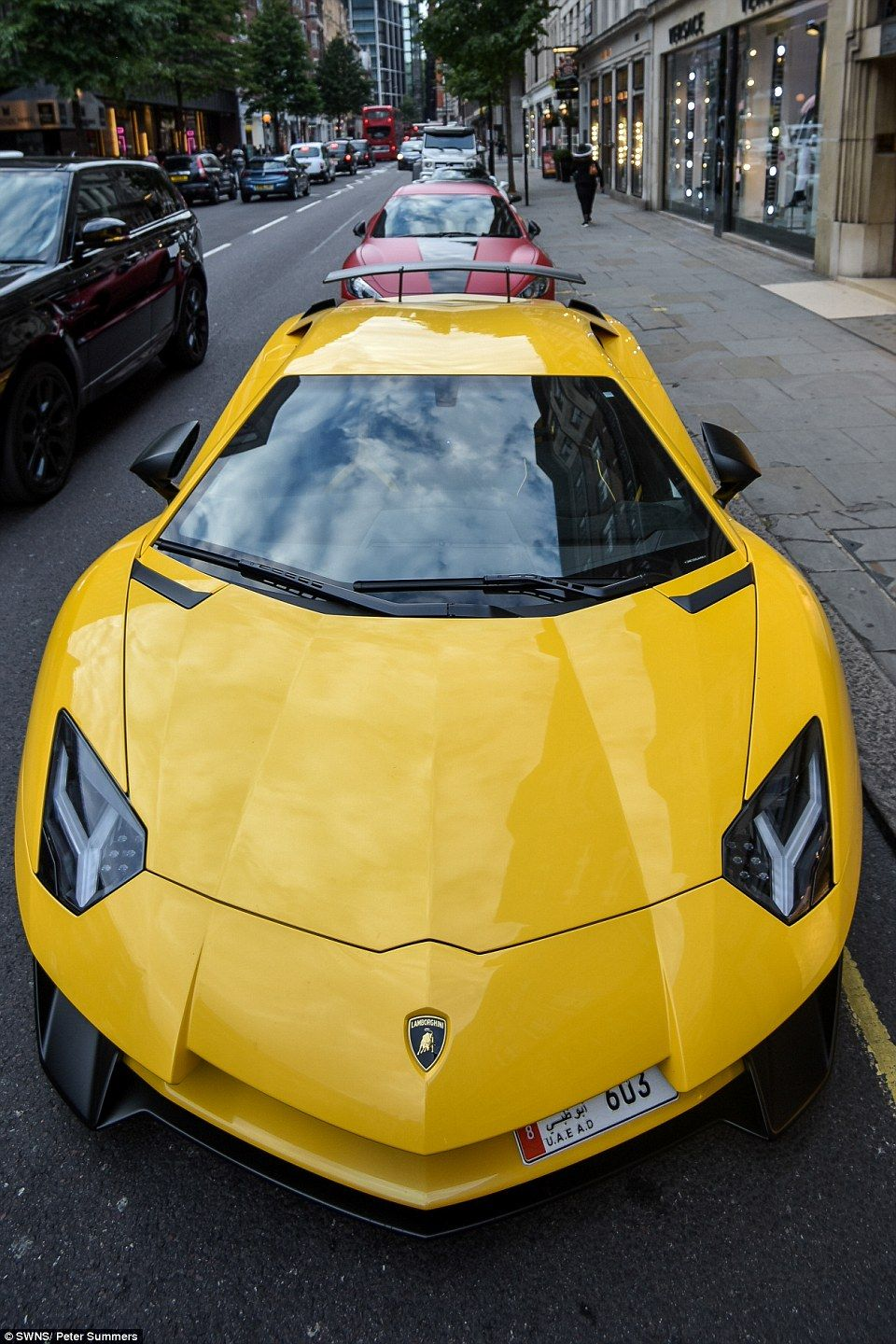Arab Owned Sports Cars Lining The Streets Of London Cars Car - Make a cool car