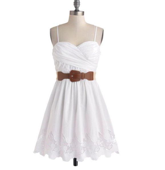 Cute Semi Casual Country Style Dress, For Wedding Attendee
