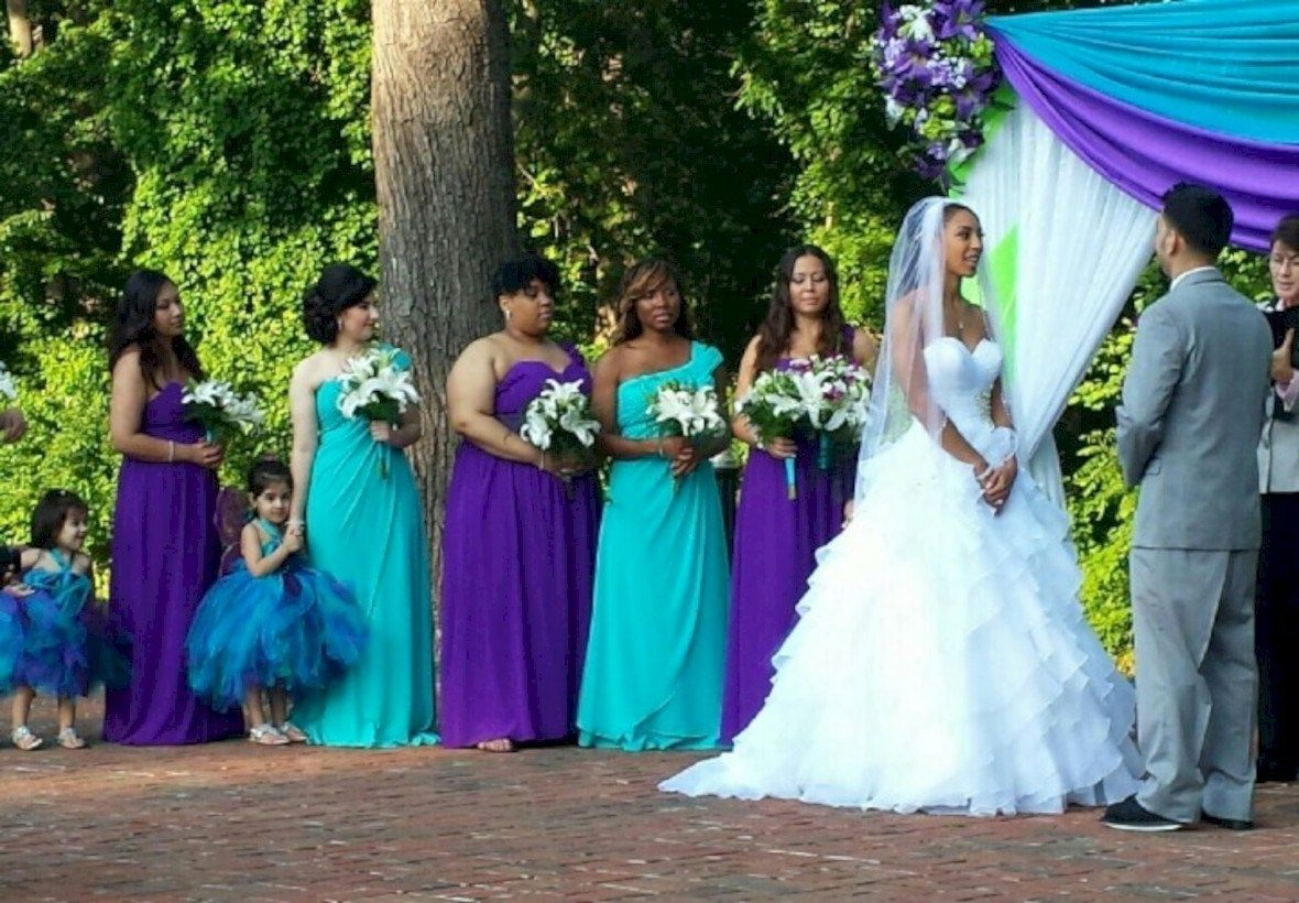 44 Stunning Purple And Turquoise Wedding Ideas With Images
