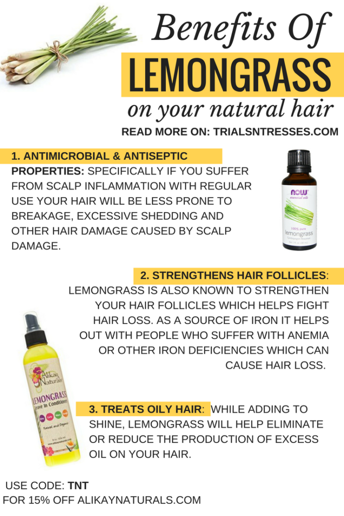 Benefits Of Lemongrass On Your Natural Hair | misc 2 | Natural hair