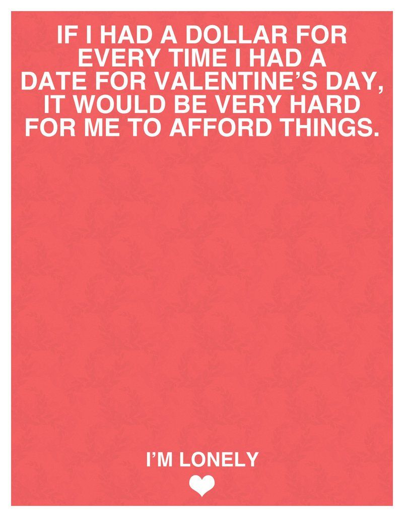 I Made A Series Of Valentines Day Cards For All Of You Things