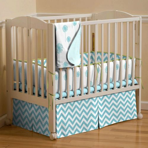 Love This Crib Skirt You Could Actually Store Extra Diapers