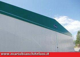 Tettoie Mobili ~ Capannoni pvc copritutto capannoni mobili senza concessione