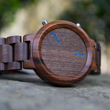 Wood smart watch